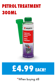 Petrol Treatment 300ml just £4.99 each when purchasing 48
