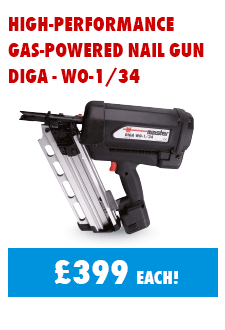Diga Gas Nailer just £399 for a limited time