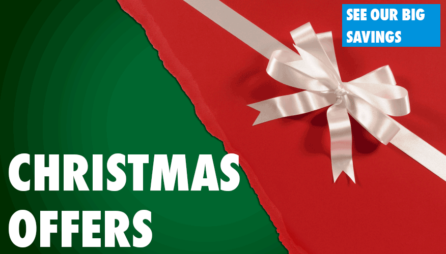 Check out our great Christmas Offers inside!