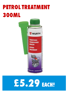 Petrol Treatment 300ml now only £5.29 each!
