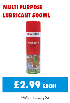 Ultra 2040 Lubricant 500ml now only £2.99 each when buying 24!