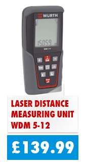 Laser Distance Measurer just £139.99 for a limited time only!