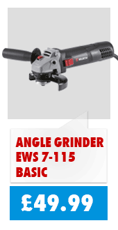 115mm 720w angle grinder for only £49.99